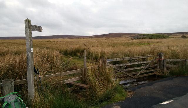 hillwalking whitely pike long distance trail hiking trekking england