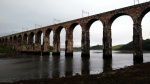 river tweed england scotland border railway bridge
