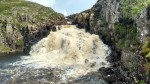 teesdale county durham england waterfall cow green pennine way