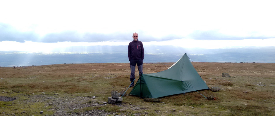summit pennines camping trekking hiking backpacking cumbria long distance national trail england