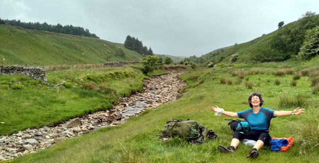 northumberland pennine way england burn long distance walk national trail