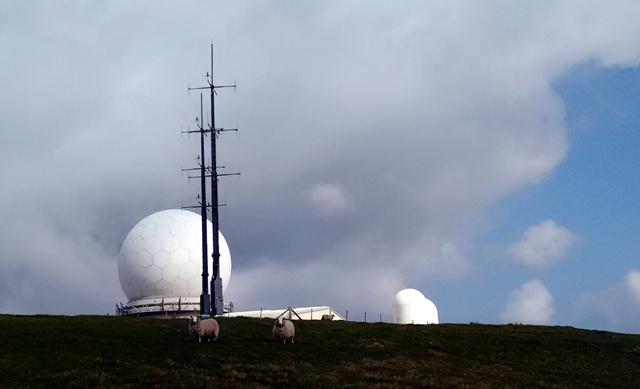 cumbria radar station summit long distance trail england