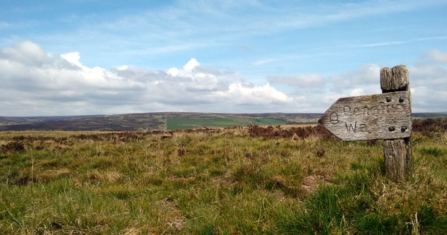pennine way yorkshire long distance walk trail national moorland scenery