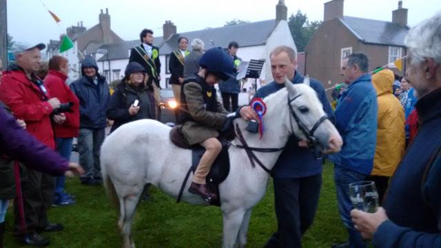 scotland scottish borders horse rider child rosette bari gadgi manushi