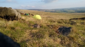 peak district derbyshire pennine way england long distance path trail tent camping