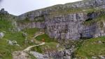 limestone karst landscape yorkshire dales pennine way england