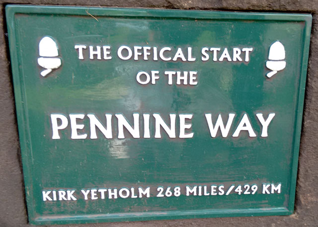 pennine way national trail hiking england