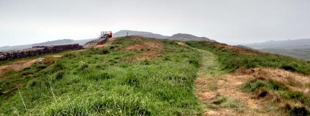 roman ruin emperor hadrian long distance walk trail national england