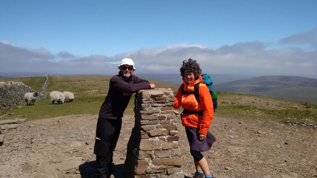 limestone trig point way trail long distance walk