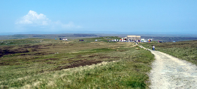moorland pennine way arkengarthdale biker pub long distance trail england