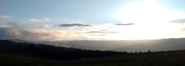 cheviot hills northumberland otterburn