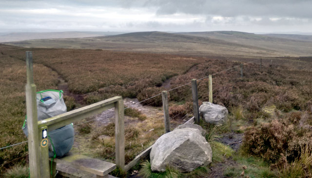 pennine way national long distance trail england