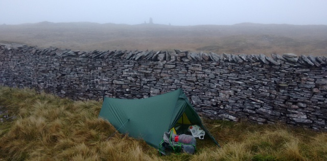 trekkertent stealth yorkshire dales tent camping trekking hiking