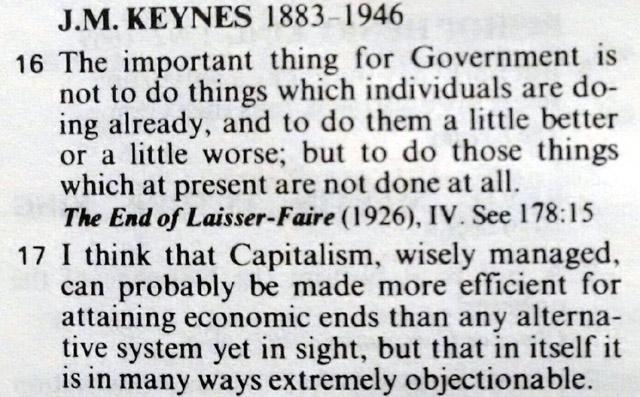 capitalism quotation end of laissez-faire