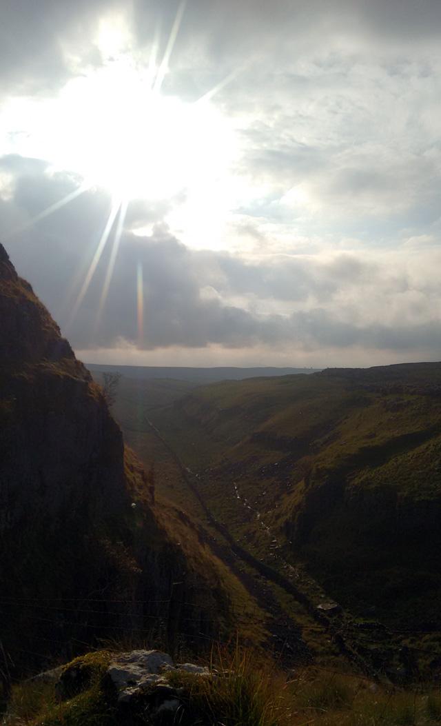 yorkshire dales national park england limestone karst landscape