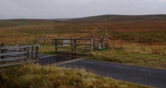 northumberland moorland hill trek walk england