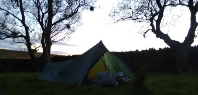 wild camping trek hike walk long distance