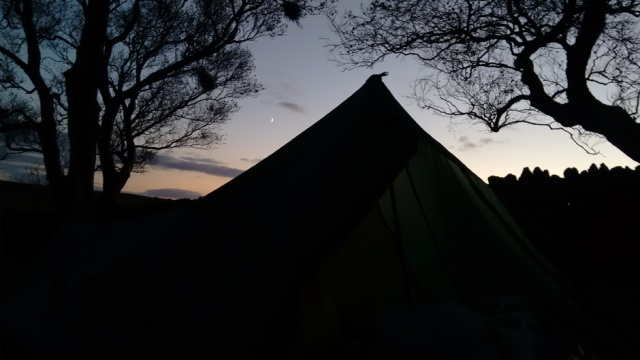 pennine way wild camp national trail