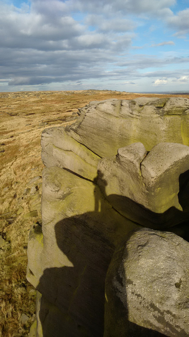 rock climb moors fells hillwalking national trail england