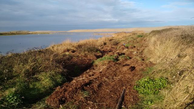 north sea storm surge flood coastal path