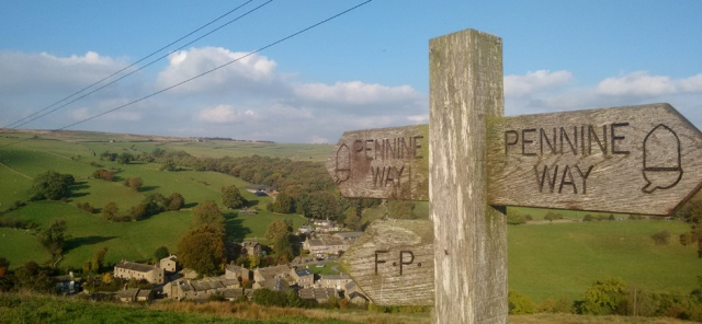 dales national park trail england