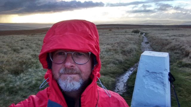 lancashire saddleworth moor trig point trail path