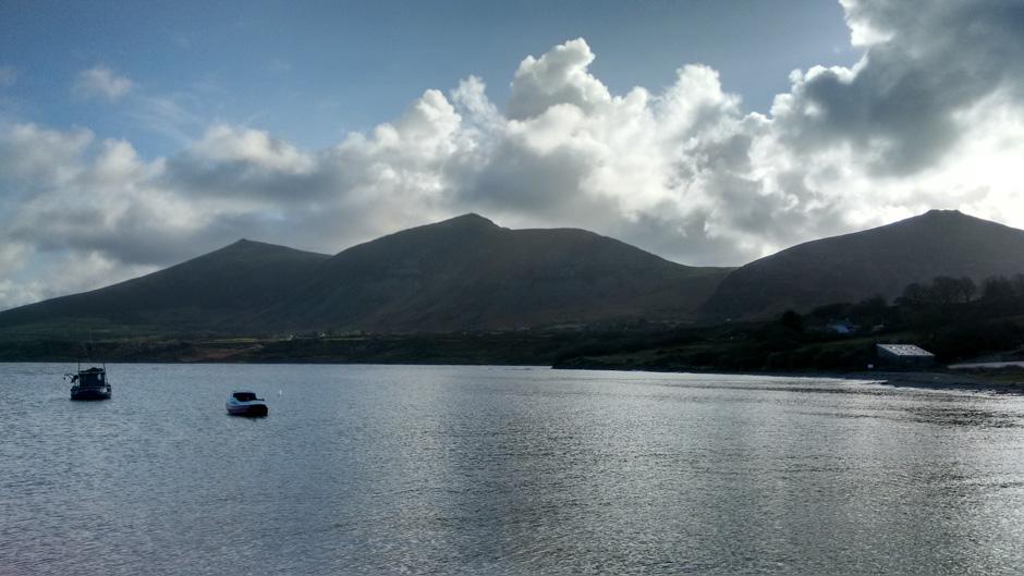 Llyn welsh mountains hills walking wales coast path