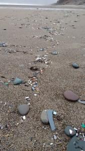 beach pollution nurdles