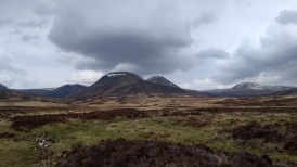 Looking North from Glen Banchor
