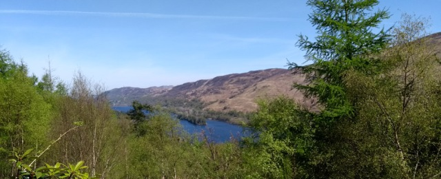 Loch Oich in the Great Glen, Scotland