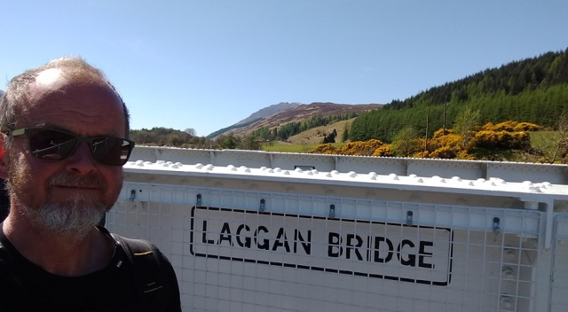 Laggan Bridge on the Great Glen Way and Cape Wrath Trail