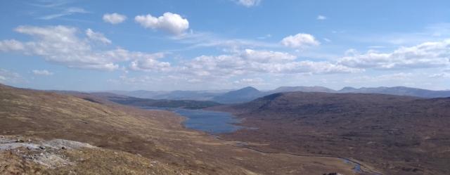 scotland highlands loch cluanie glen shiel