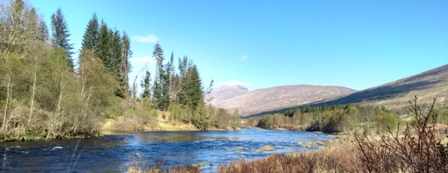 glen garry in the highlands of scotland