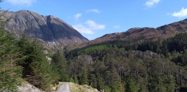 sgurr nan ceannaichean scotland highlands