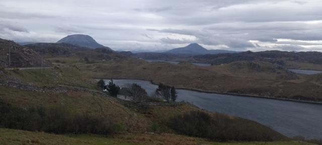 highland sutherland scotland mountains trail