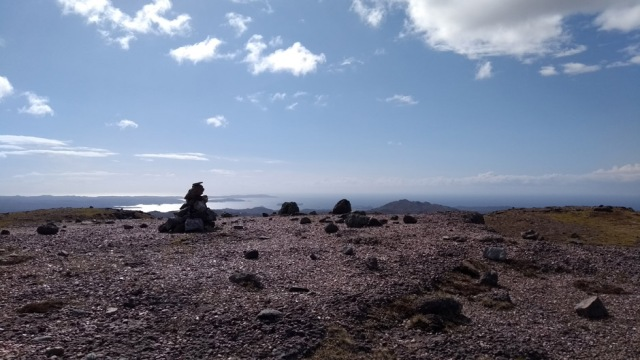scotland higlands mountain top view