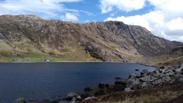 scottish highland walking mountain bothy