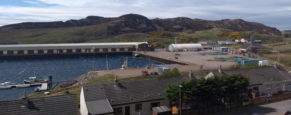 sutherland fishing port scotland