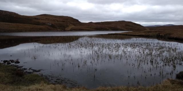 lochan in scotland highlands