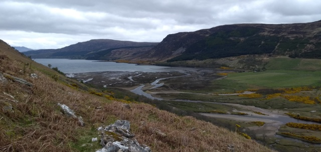 loch broom in the scottish highlands