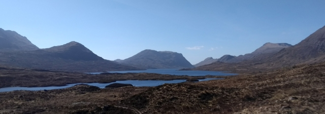 scottish highlands slioch fisherfield