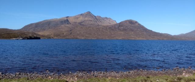 slioch lochan fada scotland highlands