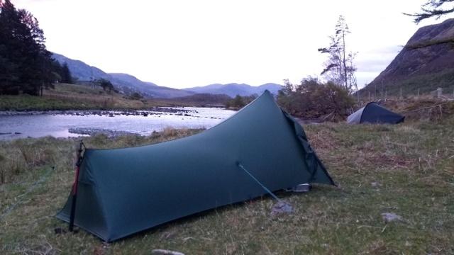 scotland highland wild camping strath stack