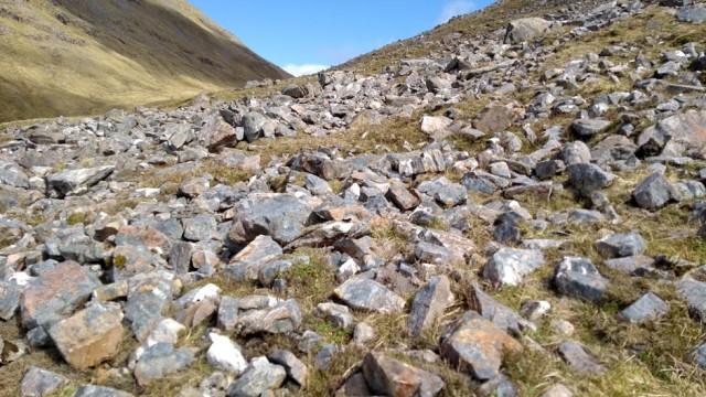 Bealach Bhearnais in scotland highlands