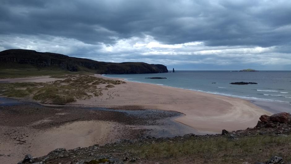 scotland seashore sutherland cape wrath