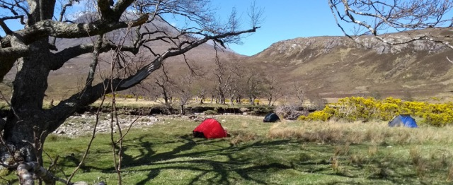 scotland highlands tents