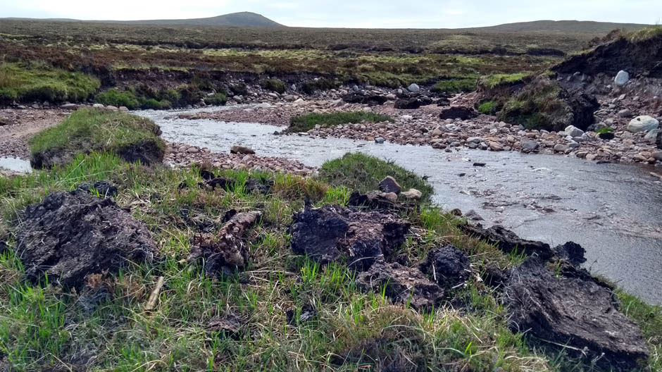 peat in the scottish highlands