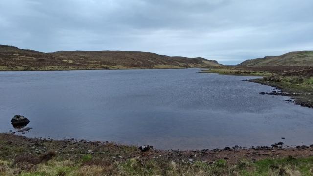 highlands sutherland loch trail walking