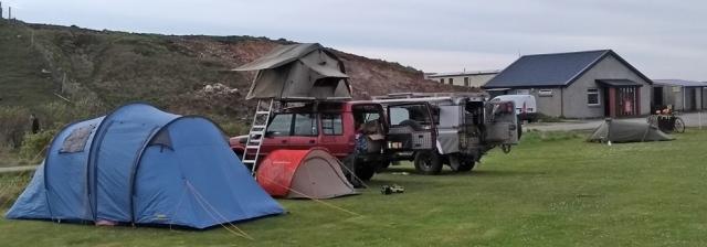 durnes sango sands campsite