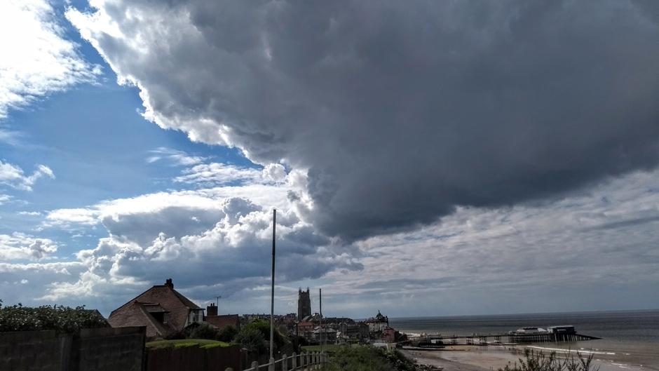 cromer seaside town norfolk england